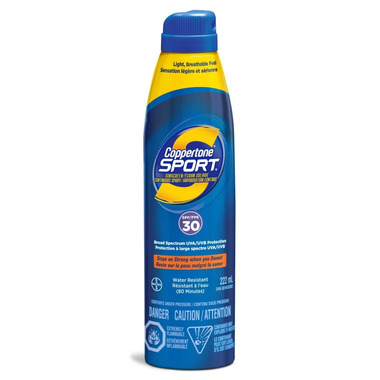 Coppertone Sport Continuous Sunscreen Spray SPF 30
