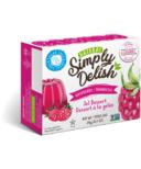 Simply Delish Raspberry Jel Dessert