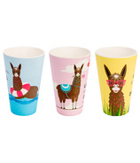 Woodway Bamboo Cup Set Llama