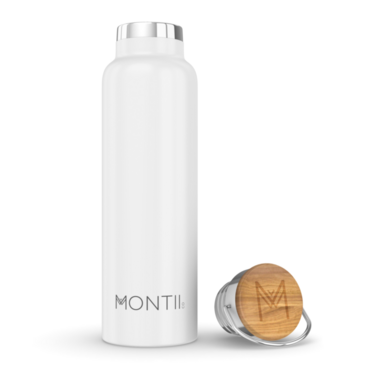Montii Co Original Insulated Water Bottle White