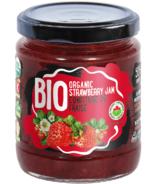 Confiture de fraises biologiques Rudolfs