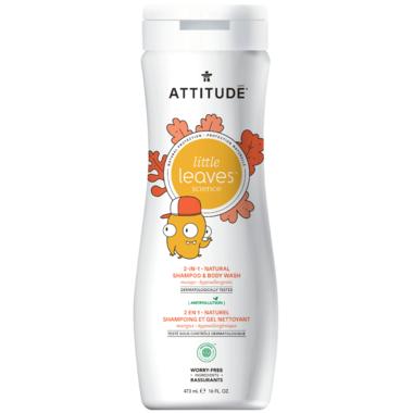 ATTITUDE Little Leaves 2-in-1 Shampoo & Body Wash Mango