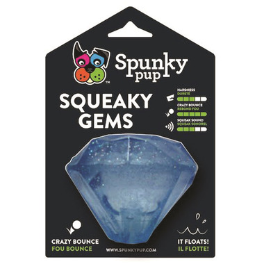 Spunky Pup Diamond Squeaker