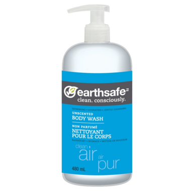 EarthSafe Clean Air Body Wash Unscented