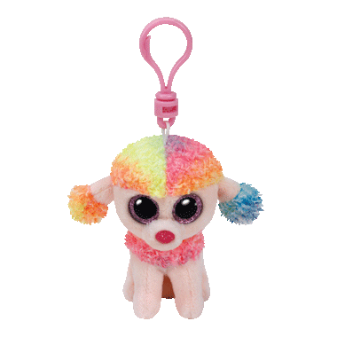 Ty Beanie Boo\'s Rainbow The Poodle