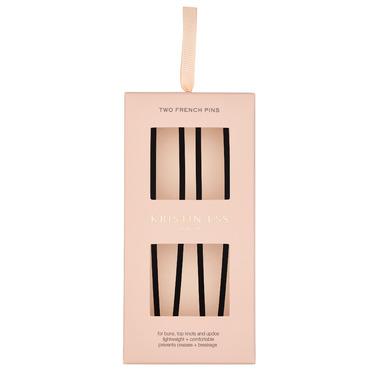 Kristin Ess Matte Black French Pin Set