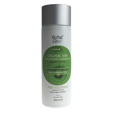 Herbal Glo Organic Kiwi Volumizing Shampoo
