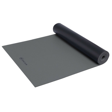 Gaiam Athletic Yoga Mat Grey