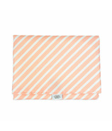 Logan and Lenora Waterproof Simple Change Pad Blush Stripe