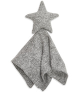 aden + anais Snuggle Knit Lovey Blanket Heather Grey