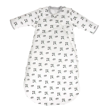 Nest Designs Organic Long Sleeve Winter Sleep Bag 3.5 TOG Pandamonium