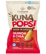 livekuna KunaPops Super Grain Snack Spicy Chili with Probiotics
