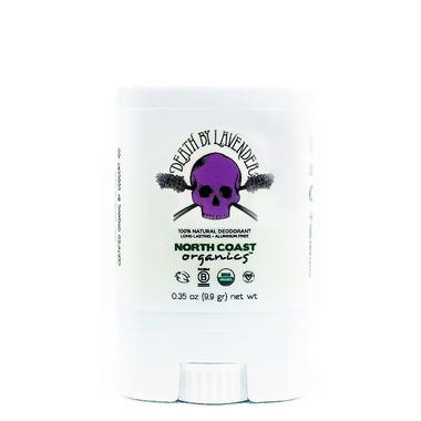 North Coast Organics Death by Lavender Organic Deodorant Travel Size