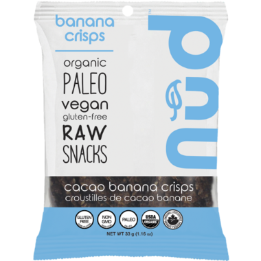 Nud Fud Cacao Banana Crisps Snack Pack