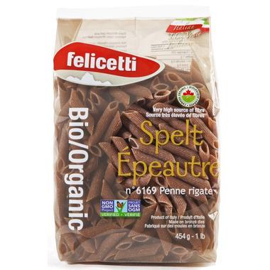Monograno Felicetti Organic Spelt Penne Rigate