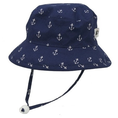 Puffin Gear Cotton Camp Hat Anchor