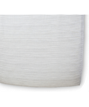Petit Pehr Stripes Away Crib Sheet Pebble