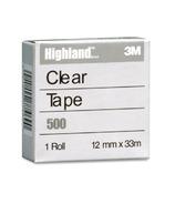 3M Highland Transparent Tape