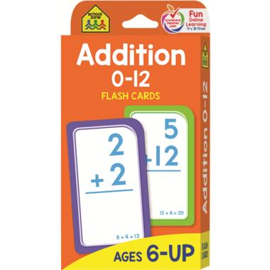 School Zone Flash Cards Addition