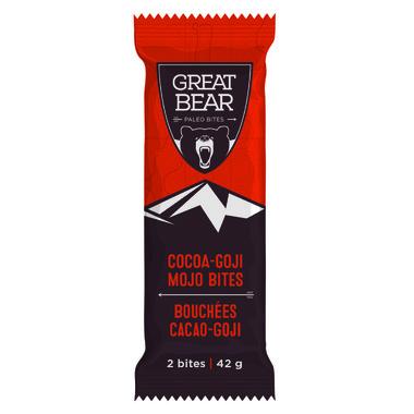 Great Bear Cocoa Goji Mojo Bites