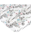 Nest Designs Fitted Bamboo Crib Sheet Meadow