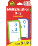 School Zone Flash Cards Multiplication