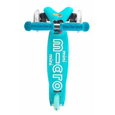 Micro of Switzerland Mini Micro Deluxe Kickboard Aqua