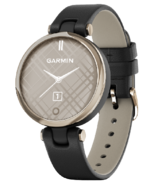 Garmin Lily Classic Edition with Gold Bezel and Italian Leather Band