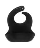 YoungLUX Silicone Bib Solid Matte Black