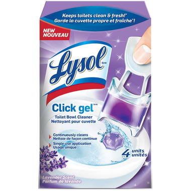 Lysol Click Toilet Bowl Cleaner Lavender