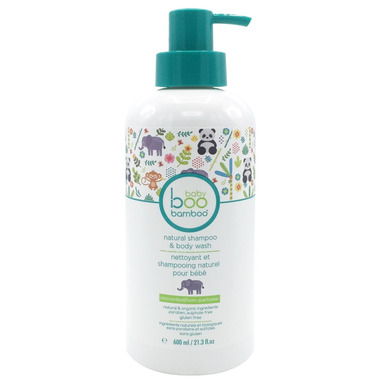 Boo Bamboo Baby Unscented Shampoo & Body Wash