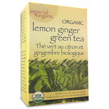 Uncle Lee\'s Imperial Organic Lemon Ginger Green Tea