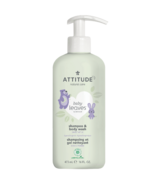 ATTITUDE Baby Leaves 2-in-1 Shampooing & Body Wash Sweet Apple