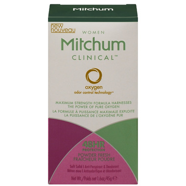 Mitchum Women Clinical Soft Solid Anti-Perspirant & Deodorant Powder Fresh