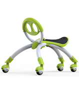 YBike Pewi Elite Ride-On Toy and Walking Buddy Green