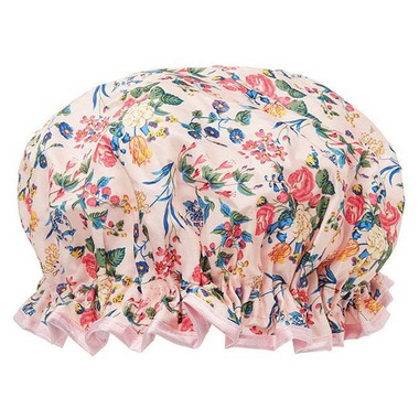 The Vintage Cosmetics Company Shower Cap Pink Floral