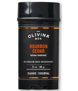 Olivina Men Bourbon Cedar Deodorant