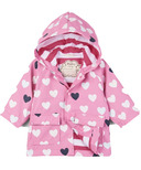Hatley Colour Changing Lovely Hearts Baby Raincoat