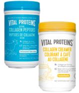 Vital Proteins Peptides de collagène + Crème de collagène Vanilla Bundle