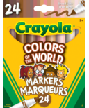Crayola Colours of the World Broad Line Markers