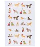 Now Designs Tea Towel Holiday Pups