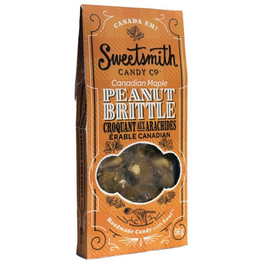 Sweetsmith Candy Co. Canadian Maple Peanut Brittle