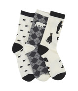 Hatley Women's Crew Socks Set Bears