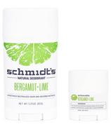 Schmidt's Bergamot & Lime Deodorant Bundle