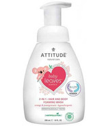 ATTITUDE Baby Leaves 2-in-1 Foaming Wash Orange Pomegranate