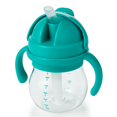 OXO Tot Transitions Straw Cup with Handles Teal