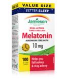 Jamieson Melatonin Maximum Strength 10mg Value Pack