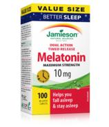 Mélatonine Jamieson Maximum Strength 10mg Value Pack