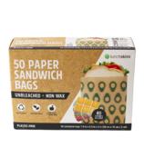 Lunchskins Paper Sandwich Bags Avocado