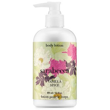 Sarabecca Vanilla Spice Body Lotion